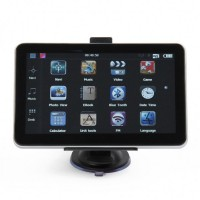"GB7102 7.0"" Resistive Screen Windows CE 6.0 GPS Navigator w/ TF / AV-in / FM - Brazil Map"