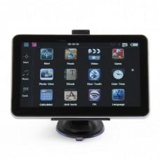 """GB7102 7.0"""" Resistive Screen Windows CE 6.0 GPS Navigator w/ TF / AV-in / FM - Brazil Map"""