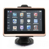 "GB5004 5"" Touch Screen Win CE 6.0 GPS Navigator with FM/E-book + Built-in 4GB Brazil Maps"