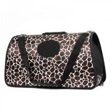 Pet Dog Cat Foldable Carrier Tote Bag with Shoulder Belt - Big Size