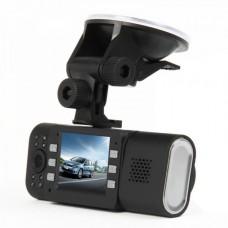 "X4000 Dual 5.0MP Lens Wide Angle Car DVR Camcorder w/ 16-IR LED / HDMI / TF (2.0"" TFT LCD)"
