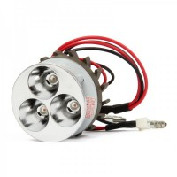GZ01W 12W 6000K 1500LM 3-LED White Light Car Lamp (DC 12V)
