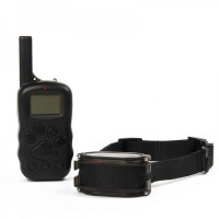 "X600 1.3"" LCD Remote Pet Training Collar - Black"