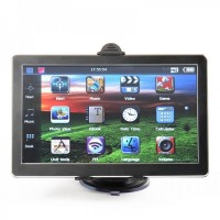 "GU7001 7.0"" Resistive Screen Windows CE 6.0 GPS Navigator w/ TF / FM - US + Canada + Mexico Map (4GB)"