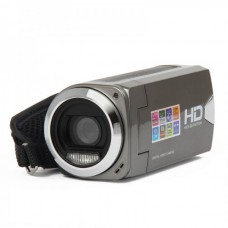 "3.0MP CMOS Digital Video Recorder Camcorder w/ SD / AV-Out - Grey (2.7"" LCD / 3 x AAA) DV-327"