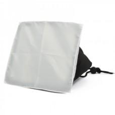 EHA-SB1520 Folding Rectangle Speedlight Flash Soft Box for Sony / Canon / Nikon Cameras + More - Black