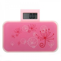 Ultra-portable Personal Scale 0101X - Pink