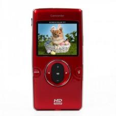 """DV-119 1.3MP CMOS Handheld Camcorder w/ HDMI / AV / SD Slot - Red (2.0"""" TFT)"""