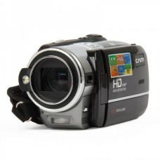 """HD-828 5.0MP Digital Camera Camcorder w/ 20X Digital Zoom / SD / HDMI / TV-out - Black (3.0"""" LCD Touch)"""
