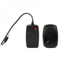 Linkstar DRT-2G 2-CH Wireless Flash Trigger Transmitter Receiver Set - Black