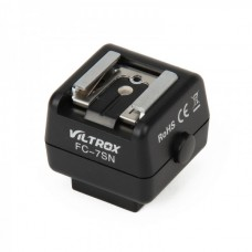 Genuine VILTROX Hot-shoe Adapter Wireless Flash Controller FC-7SN