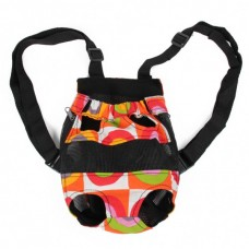 Outdoor Portable Colorful Double Shoulder Bag for Pets (Size S)