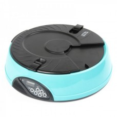 """1.1"""" LCD 6-Tray Automatic Pet Feeder with Timer (4 x Size-C)"""