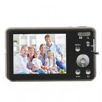"DC-E70  5.0MP Digital Camera w/ 8X Digital Zoom / SD / AV-Out - Black (2.7"" LCD)Black"