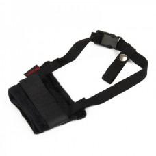 Useful Adjustable Pet Dog Muzzle Set - Black (Size-M)