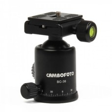 TriPod Ball Head with Quick Release Plate Adapter - Black
