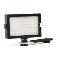 3.7W 5600K 60-LED White Light Video Lamp for Camera/Camcorder