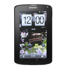 "A70 Android 2.3 WCDMA Tablet Phone w/ 7.0"" Capacitive, GPS, Wi-Fi, FM and TV - Black + Silver"