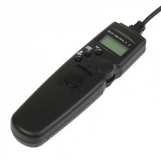 "1"" LCD Wired Timer Remote Shutter Release for Nikon D90 / D5000 (1 x CR2025)"