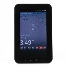 "7.0"" Capacitive Screen Android 2.3 Tablet PC w/ WiFi / SIM / Bluetooth / Dual Camera / TF (MTK6513)"