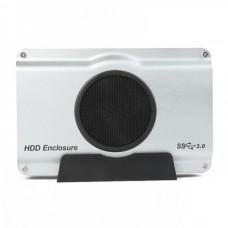 "USB 3.0/2.0 3.5"" SATA/IDE HDD Enclosure - Silver"