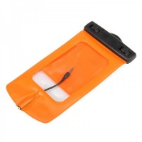 WP-550 Waterproof Bag for Moblie Phone(Orange)