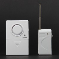 FK-9802 Wireless Door Magnetic Sensor Anti-Theft Security Alarm Set w/ Remote Controller