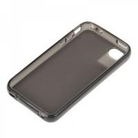 Genuine Q-case Dust-Proof Case-Transparent Black(For iphone4/4s)