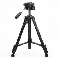 668 Genuine YUNTENG Digital Camera Tripod Stand Holder - Black