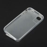 Genuine Q-case Dust-Proof Case-Transparent White(For iphone4/4s)