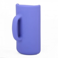 Purple Fashion CUP Stander Silicone Protective Case Taylor Design for iPhone4/4S
