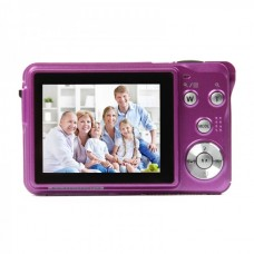"5MP CMOS Compact Digital Video Camera - Blue(2.7"" TFT LCD)"