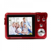 "DC-780 5MP CMOS Compact Digital Video Camera - RED (2.7"" TFT LCD)"
