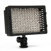 Genuine 520LM 5400K 126-LED White Photography lights for Camera/Camcorder - Black