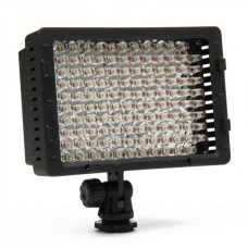 Genuine 520LM 5400K 126-LED White Photography lights for Camera/Camcorder - Black