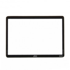 Genuine JVC Professional Optical Glass Camera LCD Protector Cover for Canon 60D
