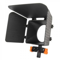 MB-1 3-Leaf Shading Bucket For Digital Camera - Black