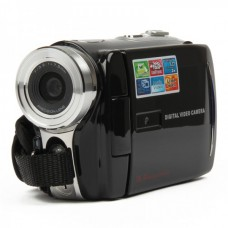 "5.0MP CMOS Digital Video Camcorder w/ 8X Digital Zoom/2-LED/AV-Out/Dual-SD Slot (3.0"" Touch Screen)"