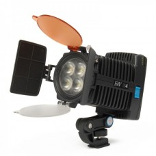 R4 12W 4-LED Photography lights for Camera Camcorder
