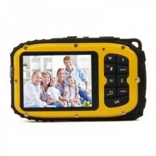 """B168 Waterproof 5.0MP CMOS Compact Digital Camera w/ 8X Digital Zoom/TF Slot/Mini USB (2.7"""" TFT LCD)"""