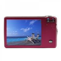 "5.0MP Digital Camera Camcorder w/ 5X Optical Zoom/AV-Out/SD (3.0"" Touch Screen)"