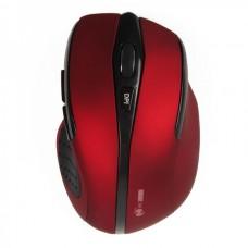 MC Saite 2.4GHz Wireless 500/1000DPI Optical Mouse w/ Receiver - Red + Black (2 x AAA)