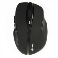 MC Saite 2.4GHz Wireless 500/1000DPI Optical Mouse w/ Receiver - Black (2 x AAA)