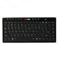 Genuine MC Saite 87-Key Mini Portable 2.4G Wireless Keyboard w/ Receiver (1*AAA)