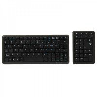 Mini 78-Key UMPC Wired USB Keyboard & 31-Key Multimedia Numeric Keypad Set