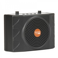 VT-168 Professional Multi-Function Rechargeable Voice Amplifier Speaker with FM/USB - Dark Grey