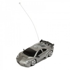 Cool R/C Model 1:32 Scale Plastic Racing Car - Dark Grey (3*AA/2*AA)