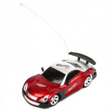 Cool R/C Model 1:32 Scale Plastic Racing Car - Red + Silver + Black (3*AA/2*AA)