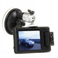 "3MP Wide Angle Car DVR Camcorder w/ 10-IR LED / AV-Out / TF (2.5"" LCD)"