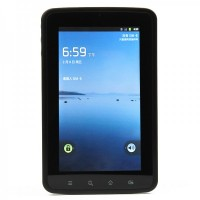 "7"" Capacitive Android 2.3 3G WCDMA Tablet w/ Dual-Camera, GPS & Bluetooth (Qualcomm 800MHz / 512MB)"
